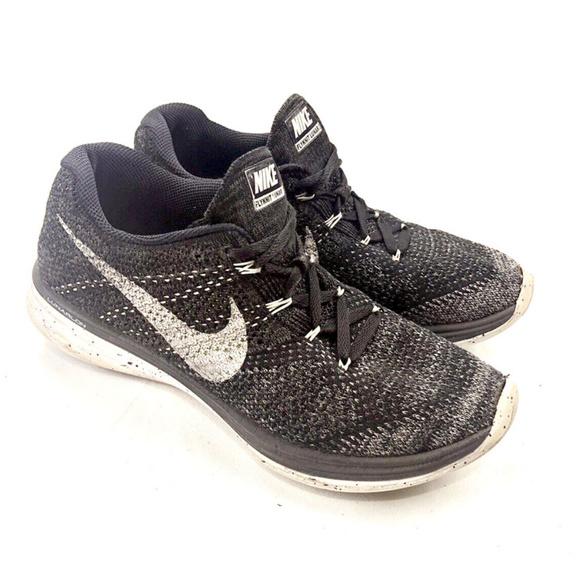 half off 065ce ac311 Nike Flyknit Lunar 3 Women's Shoes Running Black